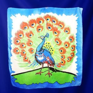 "Peacock Silk 36"""