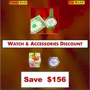 Deal 3 Blown Away Wristwatch Premier